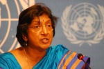 "Navi Pillay, the U.N. high commissioner for human rights, said the final document in Geneva ""highlights the suffering of many groups."" (Photo: mjj)"